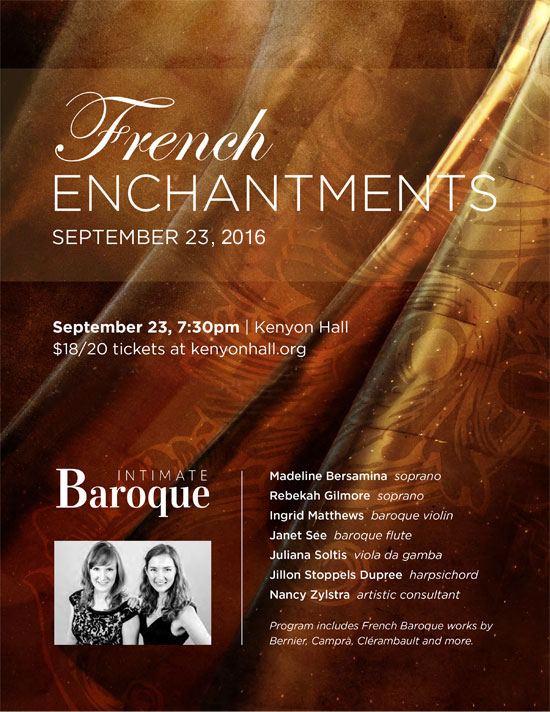 Intimate Baroque presents French Enchantments