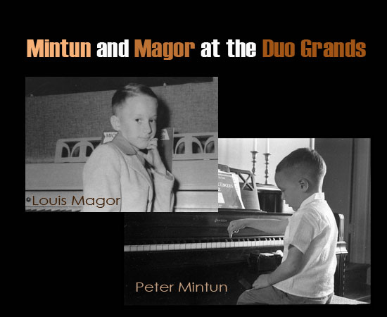 Mintun & Magor at the Duo Grands